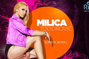 Milica Todorović večeras pravi haos na splavu River!