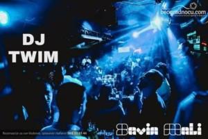 Dj Twim večeras  u klubu Savin Mali!