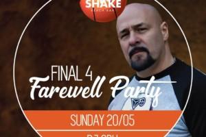 Sačuvaj nedeljno veče za ludu zabavu FINAL 4 na splavu Shake n Shake!