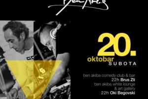 Oki Begovski & Brus Zli u klubu Ben Akiba ove subote!