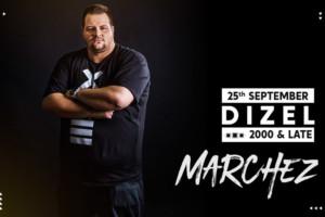 Dizel Night 2000 & Late – DJ Marchez večeras u vašem omiljenom klubu Stefan Braun!