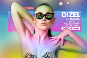 Dizel Night u klubu Stefan Braun – Dacha host Ivan Gavrilović!