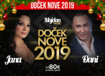 Docek Nove godine 2019 Hotel Majdan