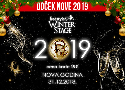 Docek Nove godine Beograd 2019 Klub Freestyler Winter Stage
