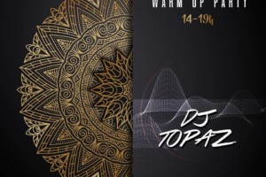 Warm Up Party – DJ Topaz od 14-19h danas u Hush Hush Social Club-u!