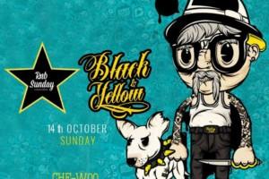 RnB Sunday i Black & Yellow: DJ Architect, DJ Playa, DJ Che-woo u klubu The Bank!