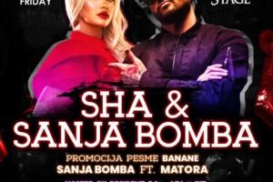 Sha i Sanja Bomba ovog petka u klubu Freestyler Winter Stage