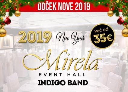 Docek Nove godine Beograd 2019 Mirela Event Hall