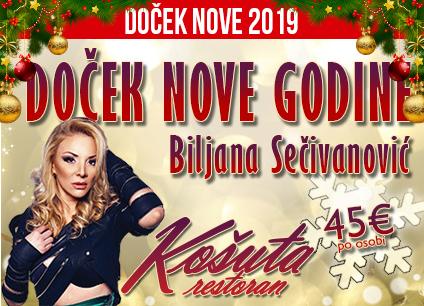 Docek Nove godine Beograd 2019 Restoran Kosuta