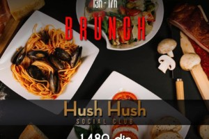 Nedeljom u Hush Hush Social Club-u Brunch od 13:00h do 17:00h!