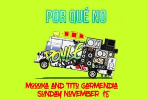 Por qué no? DJ Moooka & Tito Garmendia (dancehall, reggaeton, moombahton) u Braunu!