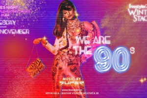 Club Freestyler Winter Stage: We are the 90s this Tuesday