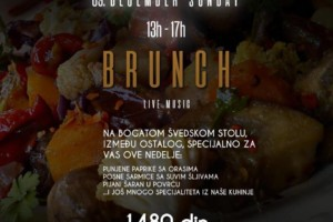 Brunch od 13:00h do 17:00h – Live music nedeljom u Hush Hush Social Club-u