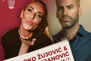 U kafani Ona Moja za kraj vikenda spektakl: Marko Žujović i Ivana Bojanović!