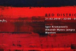 Red District večeras u klubu Ben Akiba