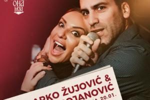 Spektakularan završetak nedelje u kafani Ona Moja uz fenomenalnu Ivanu Bojanović  Marka Žujovića!