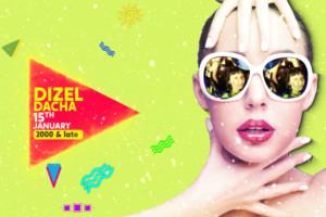 Dizel Night – DJ Dacha od 23:00h 15. januara u klubu Stefan Braun!