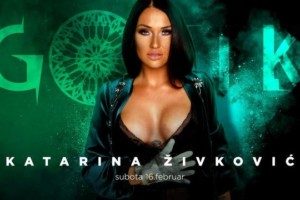 Katarina Živković večeras u klubu Gotik