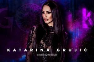 Katarina Grujić u petak u klubu Gotik