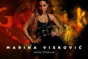 Marina Visković u subotu u klubu Gotik