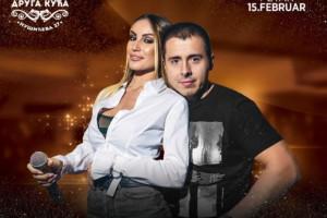 Nemanja Staletović i Aleksandra Marjanović u petka 15.02. sa vama u kafani Druga Kuća