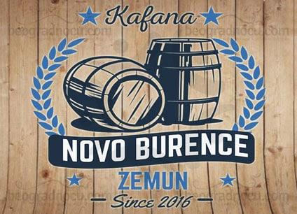 Kafana-Novo-Burence-logo