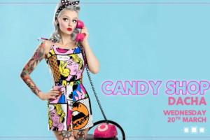 Još jedna predivna sreda u klubu Stefan Braun: Candy Shop – Dacha (house)!