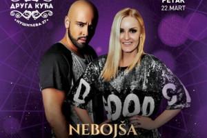 Nebojša Vranjevac i Ivana Nany ovog petka u kafani Druga Kuća