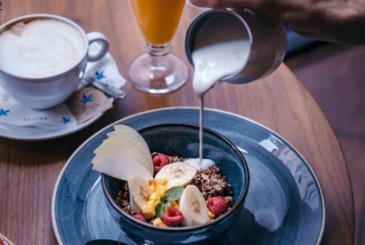 Peta soba doručak