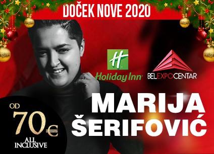 Docek Nove godine 2020 Beograd Belexpo centar baner