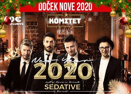 Docek Nove godine 2020 Beograd Komitet Beton Hala baner