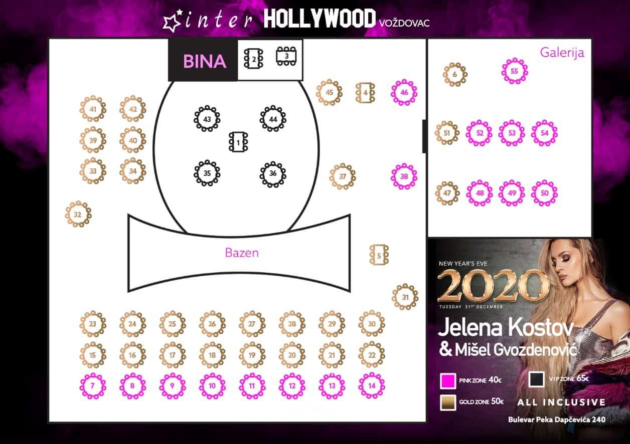 Docek-Nove-godine-Beograd-2020-Restoran-Inter-Hollywood-Vozdovac-mapa 1