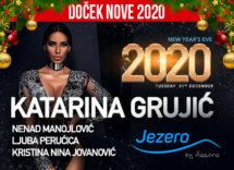 Docek Nove godine Beograd 2020 Restoran Jezero by Azzaro Ada Ciganlija baner