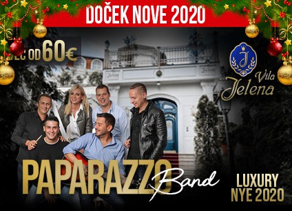 Docek Nove godine Beograd 2020 Vila Jelena baner