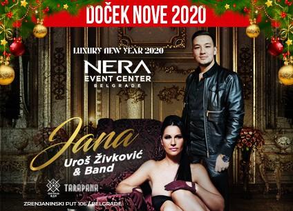 Docek Nove godine Beograd 2020 svecane sale Nera baner