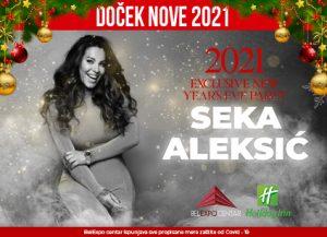Belexpo centar doček Nove godine Beograd 2021