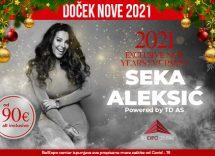 Belexpo centar doček Nove godine 2021 Beograd