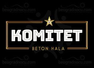 Klub Komitet doček Nove godine Beograd 2021