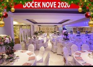 Docek Nove godine Beograd 2020 Jezero