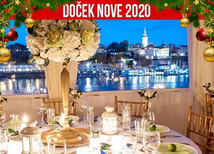 Docek Nove godine 2020 Beograd Aria Event Center baner