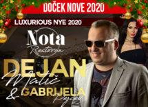 Docek Nove godine 2020 Beograd Garni hotel Nota baner