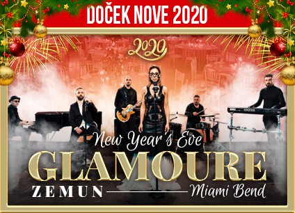 Docek Nove godine 2020 Beograd Glamoure Event Center baner