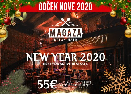 Docek Nove godine 2020 Beograd Restoran Magaza baner