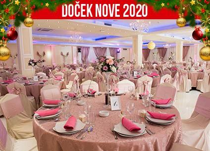 Docek Nove godine 2020 Beograd Ser Gilles baner