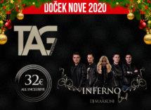 Docek Nove godine 2020 Beograd Splav Tag baner
