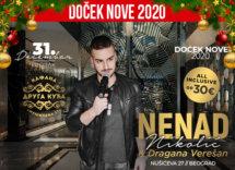 Docek Nove godine Beograd 2020 Kafana Druga Kuća baner