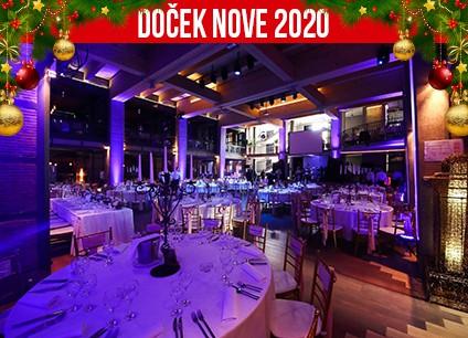 Docek Nove godine Beograd 2020 Lobby Event Center baner