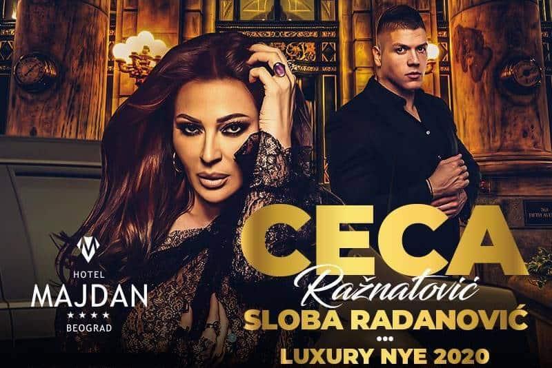 Sloba i Ceca docek nove godine 2020 u hotelu majdan