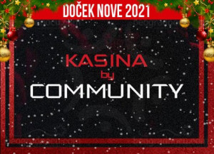 Doček Nove godine 2021 Beograd klub Kasina by Community
