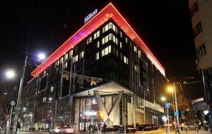 Hotel Hilton doček Nove godine Beograd 2021